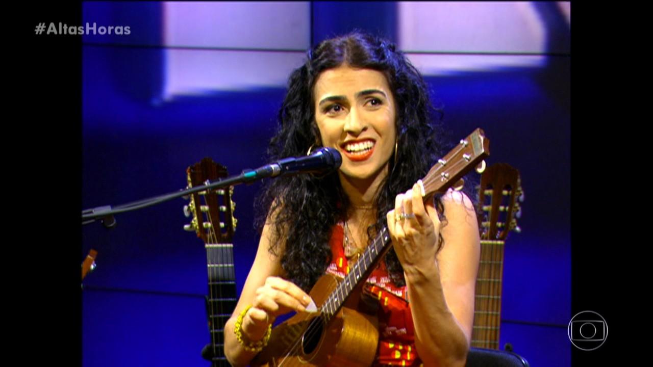 Relembre apresentação de Marisa Monte no Altas Horas
