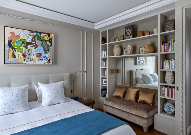 200 m²: obras de arte, cores e vistas apaixonantes em Paris (Foto: Frédéric Vasseur)