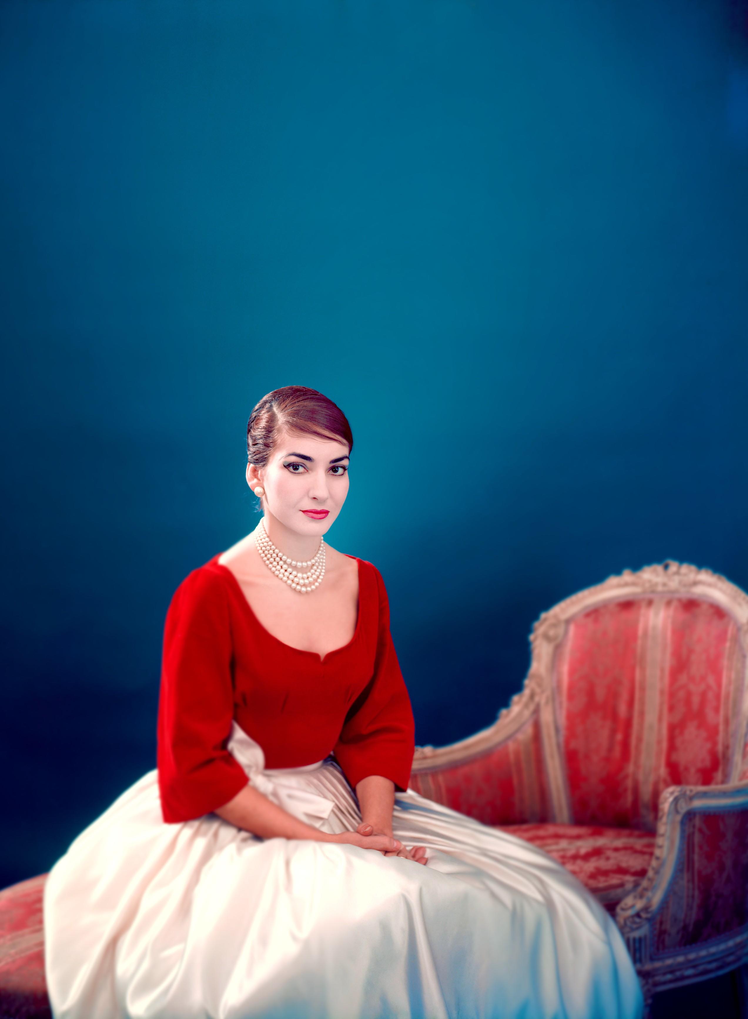Maria Callas (Foto: Copyright Fonds de Dotation Maria Callas)