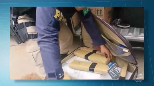 Polícia prende três pessoas e apreende 76 Kg de maconha em ônibus que saiu de SP e ia para Salvador
