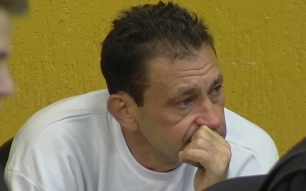 Klayton foi condenado há 18 anos por matar a ex com facada  — Foto: Reprodução/TV Anhanguera