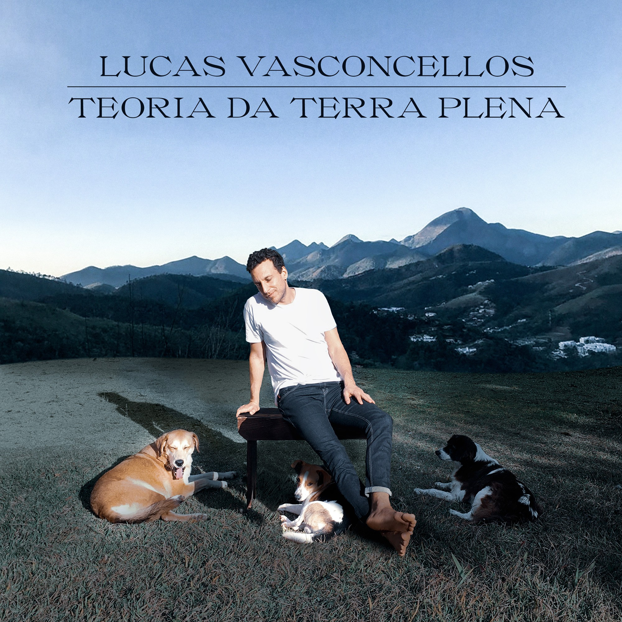 Lucas Vasconcellos celebra disco icônico de George Harrison na capa do álbum 'Teoria da terra plena'
