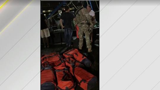 Mais de 300 kg de cocaína são apreendidos em barco pesqueiro no RJ