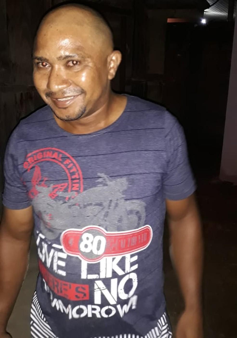 José Carlos Cardoso da Silva é procurado pela polícia em Peixoto de Azevedo — Foto: Polícia Civil de Mato Grosso/Divulgação