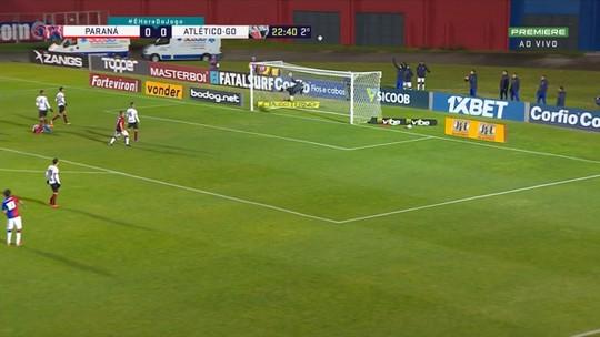 Rafael Furtado ganha elogios e pode ser titular do Paraná contra o Criciúma