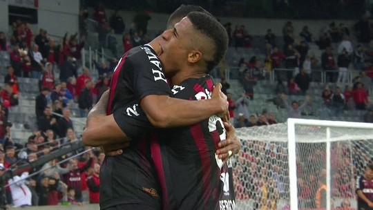 Os gols de Atlético-PR 4 x 0 Sport pela 29ª rodada do Brasileirão