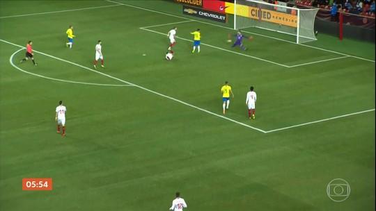 Confira os gols da partida entre Brasil e República Tcheca