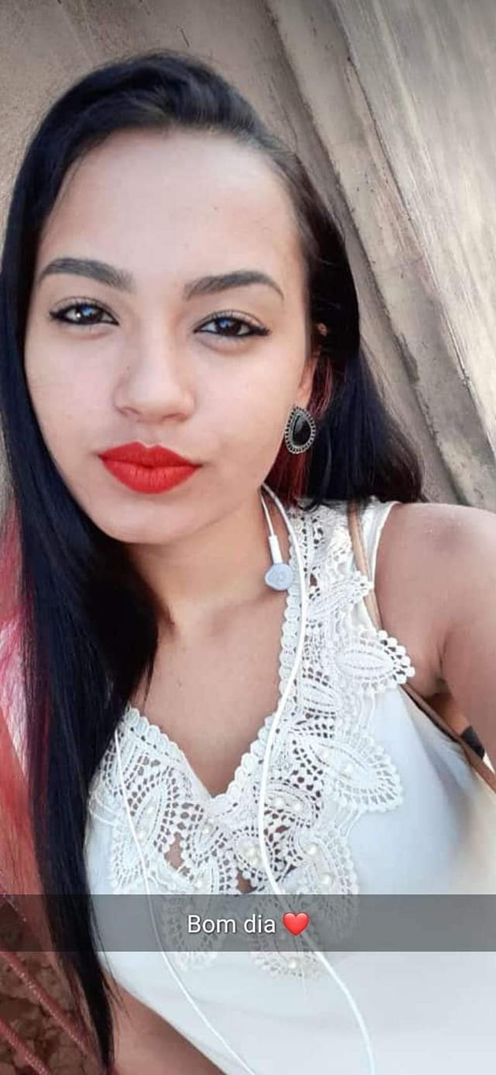 Maria Graziele de Souza desapareceu no dia 14 de abril e seu corpo foi encontrado no dia 19 — Foto: Redes Sociais/Divulgação