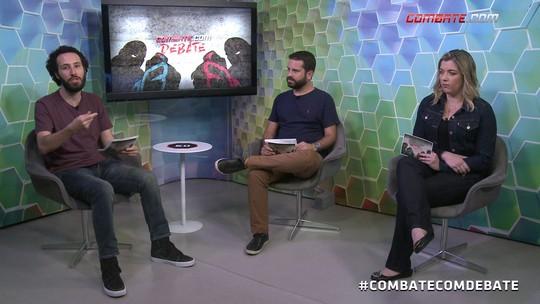 Combate.com Debate #20 tem doping de Anderson, revanche de Aldo, e McGregor