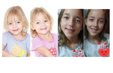 As irmãs Serena e Vitória Lovatel tinham 2 anos e meio na época da novela. Hoje, aos 9, mantêm um perfil no Instagram onde compartilham receitas e vídeos de Tik Tok Reprodução