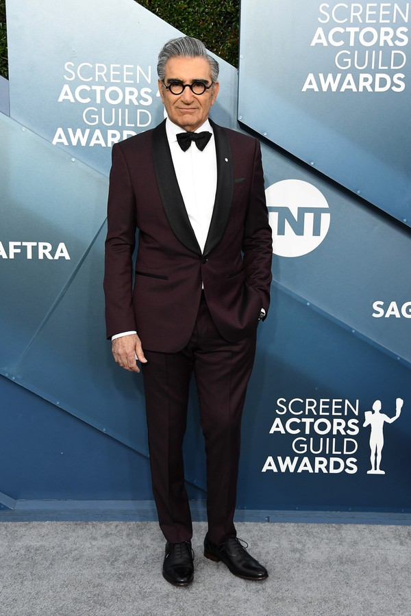 LOS ANGELES, CALIFORNIA - JANUARY 19: Eugene Levy attends the 26th Annual Screen Actors Guild Awards at The Shrine Auditorium on January 19, 2020 in Los Angeles, California. (Photo by Steve Granitz/WireImage) (Foto: WireImage)
