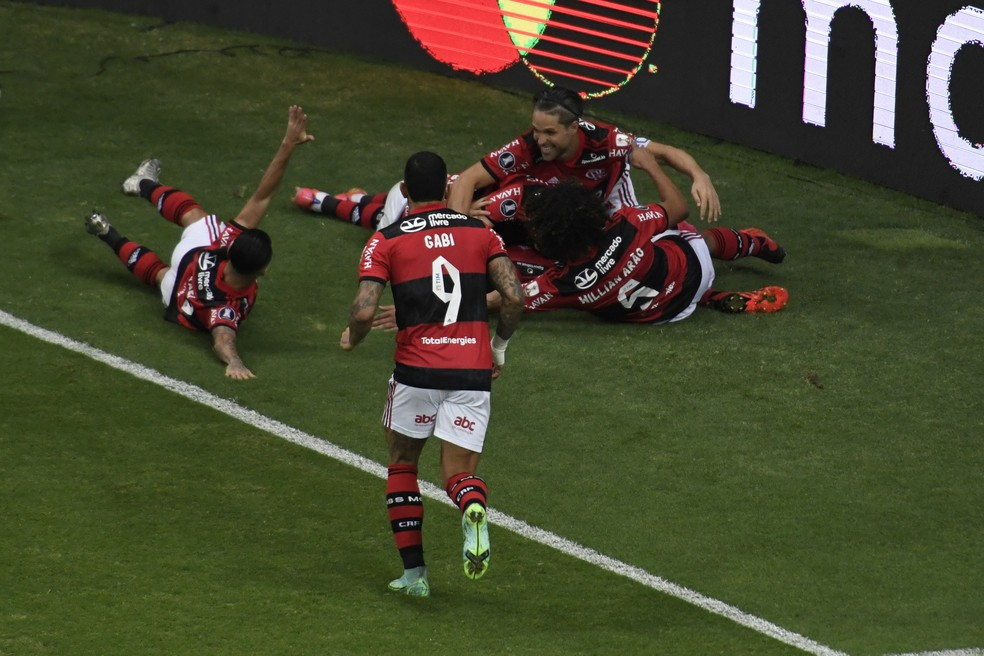 Flamengo x Defensa Y Justicia Libertadores — Foto: Mateus Bonomi/AGIF