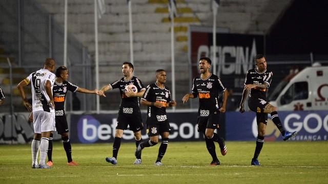 Boselli fez o gol do Corinthians na partida