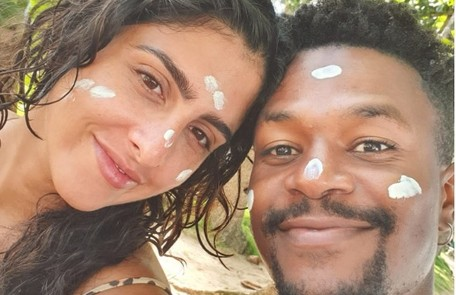 David Junior e Yasmin Garcez comemoram férias na Bahia Arquivo pessoal
