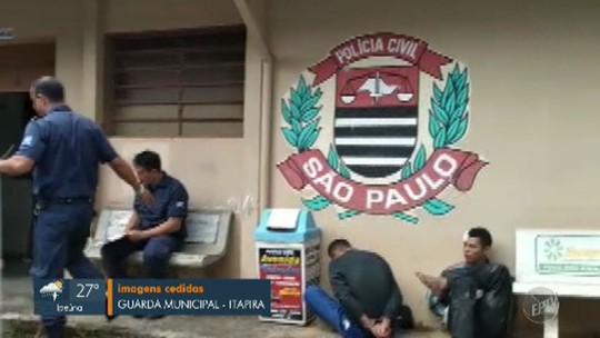 Guarda prende três suspeitos em Itapira após sequência de assaltos na região