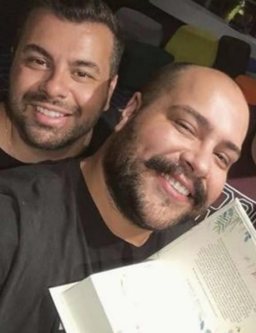 Fernando Poli e Tiago Abravanel (Foto: Reprodução/Instagram)