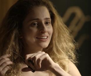 Carol Duarte em cena como Ivana em 'A força do querer'   TV Globo