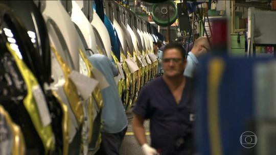 Produção industrial cai em julho em 8 dos 15 locais pesquisados pelo IBGE
