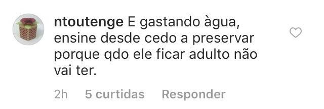 Comentários (Foto: Instagram/Reprodução)