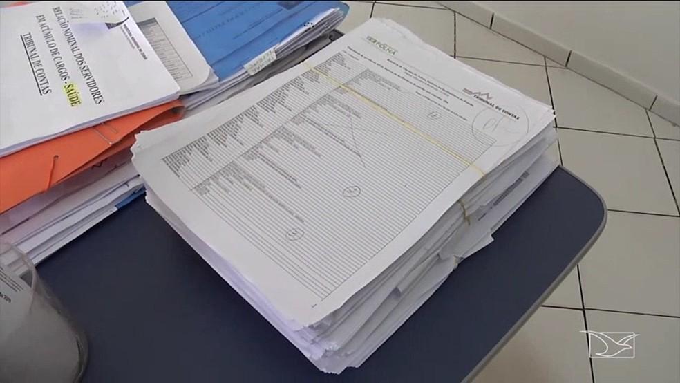 Mais de 300 servidores estão acumulando cargos no serviço público do Maranhão, segundo o TCE. — Foto: Reprodução/TV Mirante
