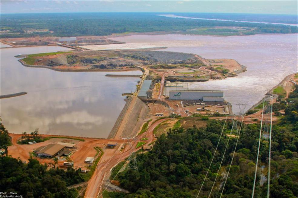 Usina Hidrelétrica Santo Antônio (Foto: Santo Antônio Energia/Divulgação)