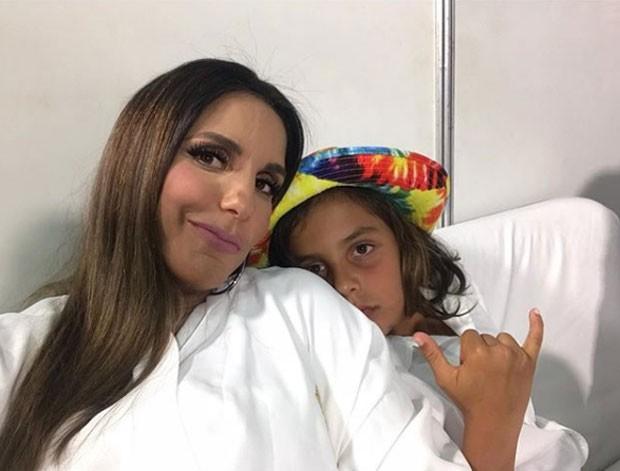 Ivete com Marcelinho (Foto: Reprodução Instagram)