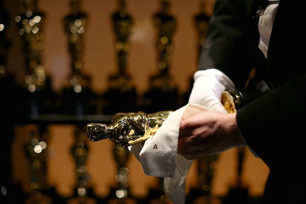 A estatueta do Oscar entregue pela Academia de Artes e Ciências Cinematográficas de Hollywood (Foto: Getty Images)