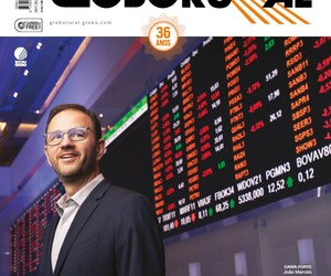 Empresas do agro na bolsa são destaque na edição de outubro da Revista Globo Rural