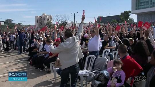 Servidores de escolas estaduais suspendem a greve