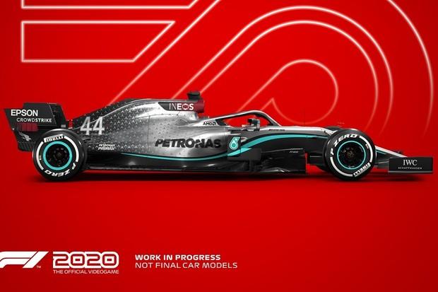 F1 2020 - Mercedes (Foto: Divulgação)