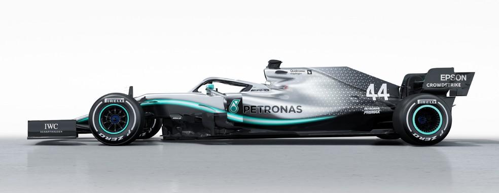 Layout da Mercedes sofreu mudanças mais sutis — Foto: Divulgação