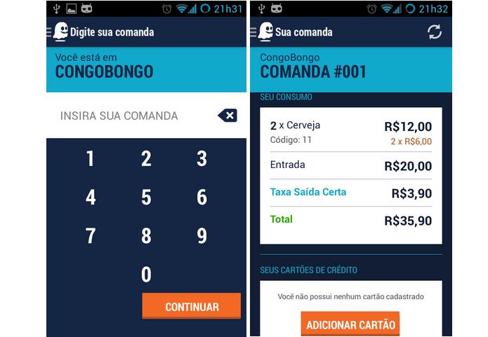 Saída Certa é um aplicativo que gera uma comanda para saber o que o usuário consumiu (Foto: Divulgação) (Foto: Saída Certa é um aplicativo que gera uma comanda para saber o que o usuário consumiu (Foto: Divulgação))