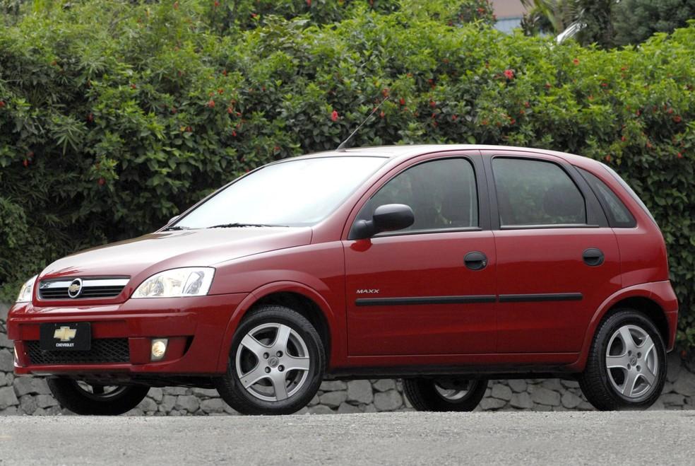 Chevrolet Corsa saiu de linha há quase dez anos, mas ainda é buscado — Foto: Divulgação
