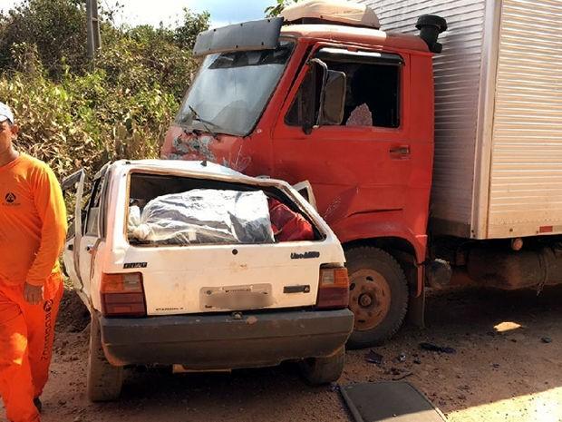 Acidente matou sete pessoas da mesma família na BR-174 (Foto: Divulgação)