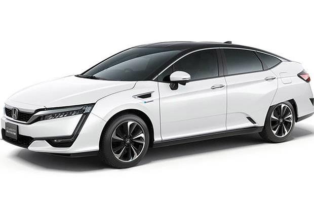 O Honda FCX (Fuel Cell eXperimental), primeiro veículo com célula de combustível a hidrogênio da Honda, foi lançado em 2002 (Foto: Divulgação)