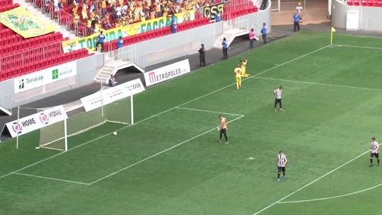 Brasiliense bate o Sobradinho e sai na frente na decisão do Candangão