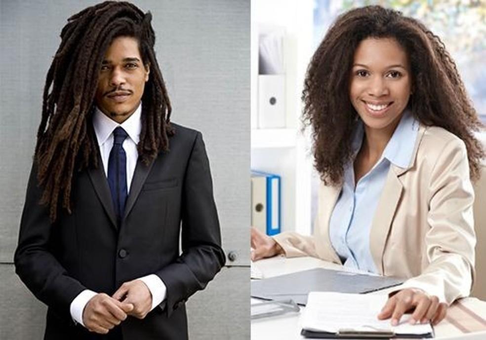 Profissionais negros: mais da metade admite já ter alisado ou raspado o cabelo para ser aceito no trabalho (Foto: Divulgação/Etnus)