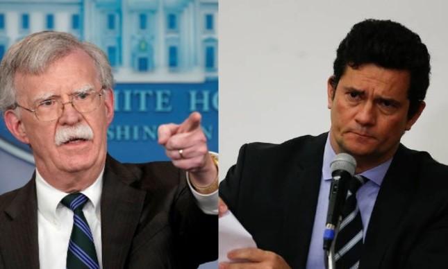 John Bolton e Sergio Moro, inimigos íntimos de Trump e Bolsonaro