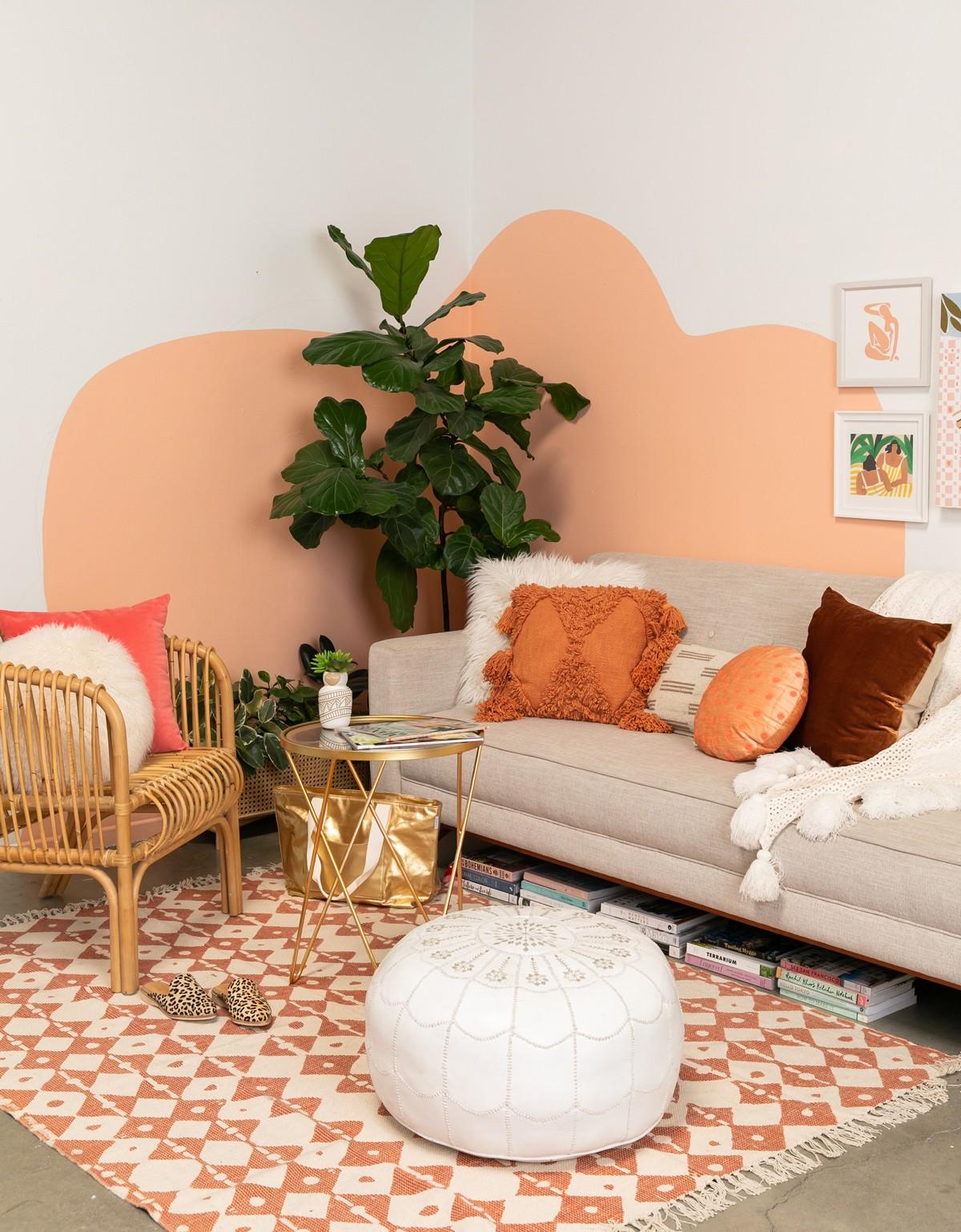 Pintura orgânica: conheça a tendência  que transforma as paredes dos lares! (Foto: Reprodução/Pinterest)
