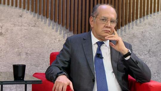 ASSISTA: GloboNews entrevista o ministro Gilmar Mendes