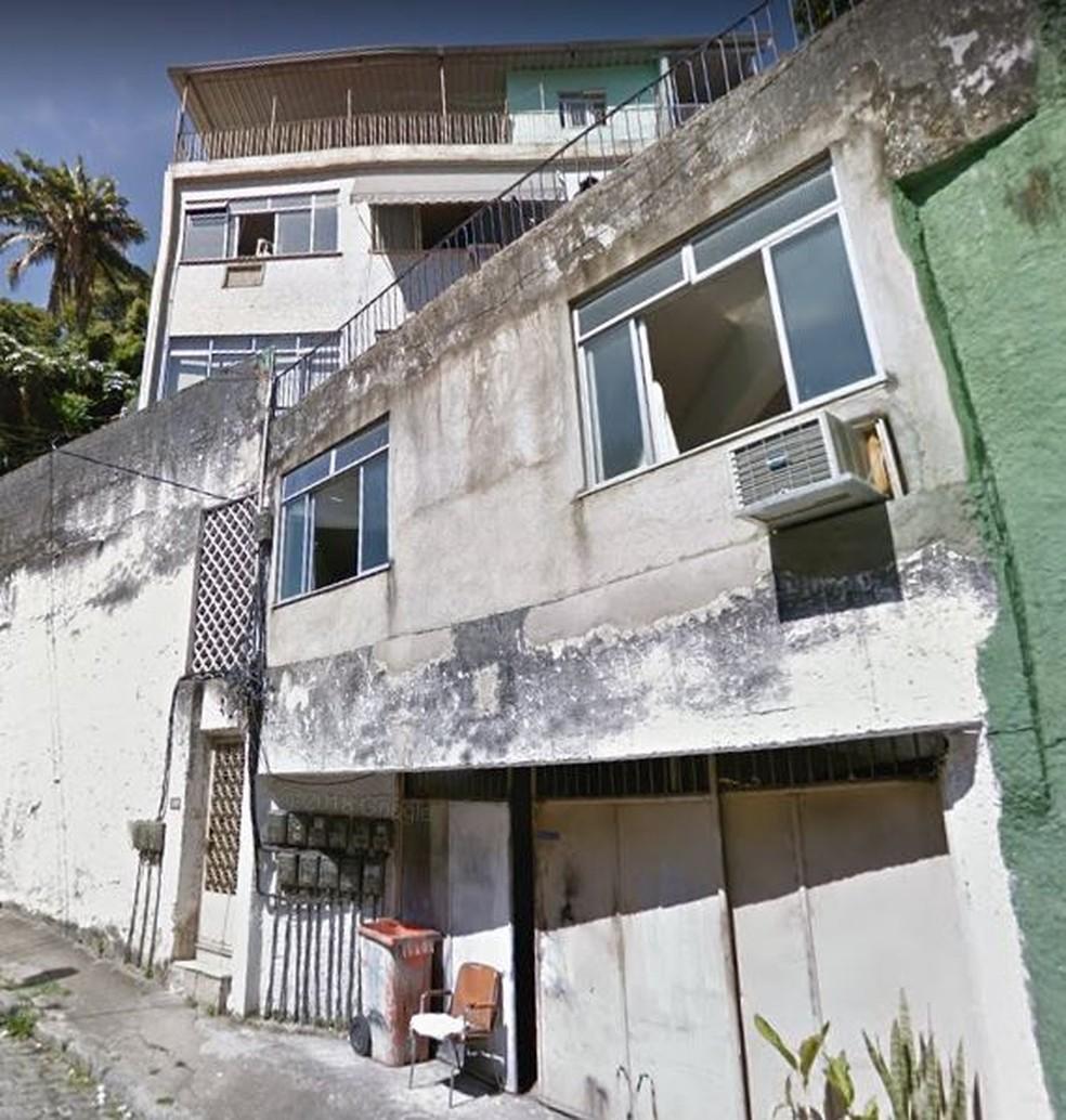 Casarão nas Laranjeiras era usado como alojamento nos anos 90 — Foto: Reprodução / Google Street View