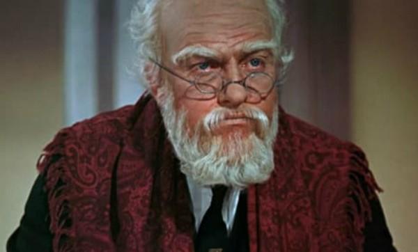 """Dick Van Dyke como o Sr. Dawes em """"Mary Poppins"""" (1964)   (Foto: Reprodução )"""