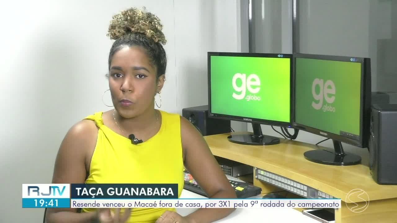 Resende vence fora de casa pelo Campeonato Carioca