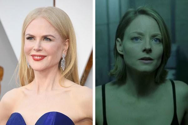 Nicole Kidman e Jodie Foster, em O Quarto do Pânico (Foto: Getty Images/Reprodução)