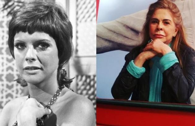 Maria Claudia era Adalgisa Portela, mulher de Jairo. Depois de fazer sucesso até os anos 1990, ela se afastou da TV por causa de um problema nas cordas vocais. Nos anos 2000, voltou a atuar e esteve em produções da Record. Hoje, dedica-se ao teatro (Foto: Reprodução)