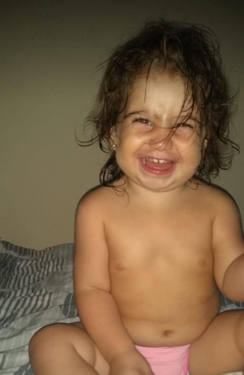 A criança de dois anos estava matriculada na instituição há cerca de três meses — Foto: Arquivo pessoal