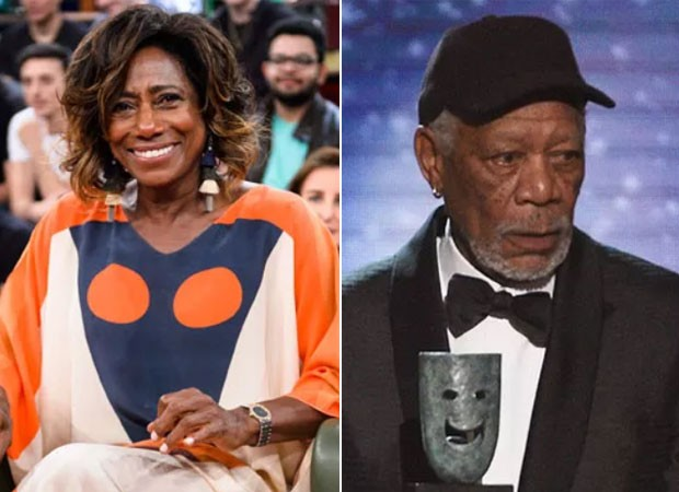 Gloria Maria foi comparada a Morgan Freeman  (Foto: Globo/Ramón Vasconcelos/Getty Images)