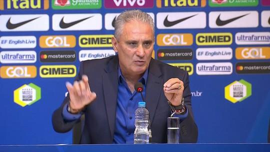 """Tite admite lições com a composição da seleção na Copa: """"Faltou equilíbrio maior"""""""