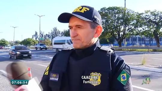 Flagrantes de ultrapassagens proibidas crescem 209% nas rodovias do Ceará durante as férias
