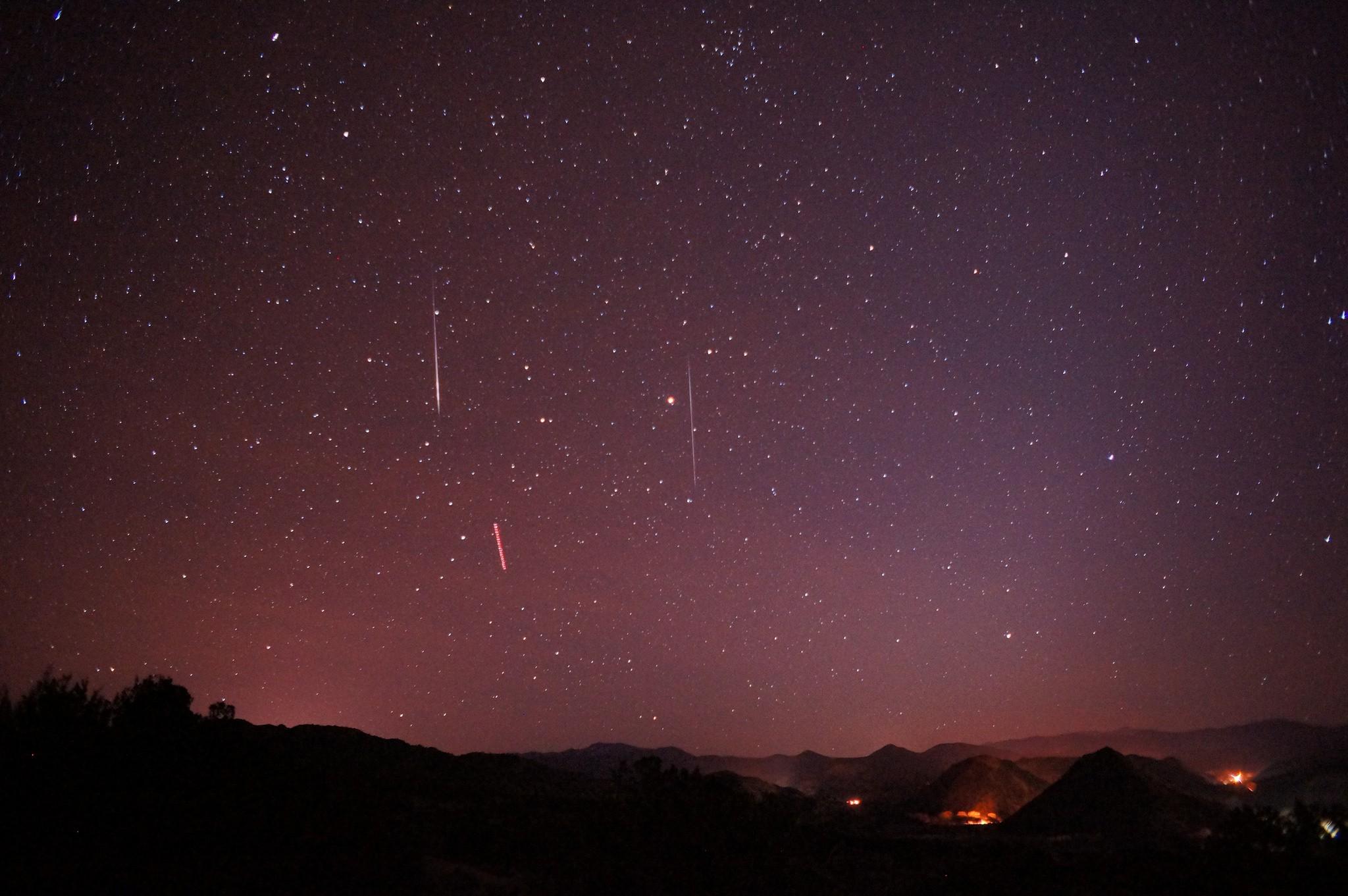 Chuva de meteoros é popularmente conhecida como estrelas cadentes (Foto: Flickr/Mike Lewinski/Creative Commons)